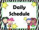 Rockstar EDITABLE Daily Schedule Cards