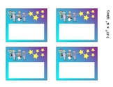 Rockstar Everything Labels - Supply, Name tags, Cubby tags