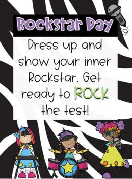 Rockstar Dress Up Flyer