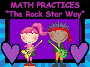 Rockstar Math Practice Posters