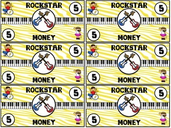Rockstar Money Classroom Incentives