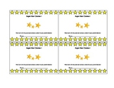 Rockstar Punch Card {Behavior System}