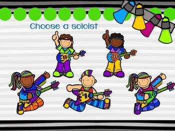Rockstar Rhythms {A Bundled Set of Rhythm Games for the Music Room}