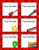 Rockstar Rock n' Roll Theme Classroom Labels Decorations Editable