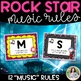 Music Rules: Rockstar Rules for the Music Classroom
