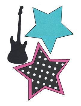 Rock star Theme Decor