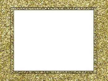 Glitter/Rockstar Themed Blank Labels