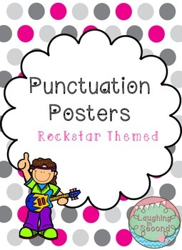 Rockstar Themed - Punctuation Posters