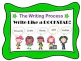 Rockstar Writing Process Posters