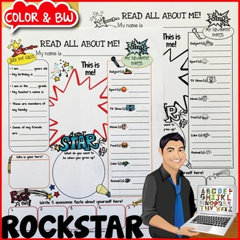 Rockstars All About Me Poster