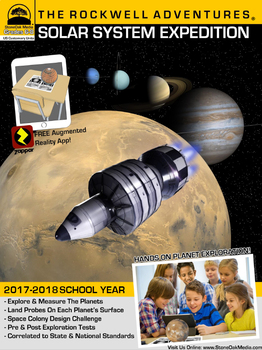 Rockwell Adventures: Solar System Expedition (US Customary Units, Grades 6-8)