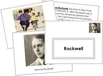 Rockwell (Norman) Art Book - Color Border