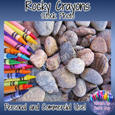 Rocky Crayons (Stock Photo)