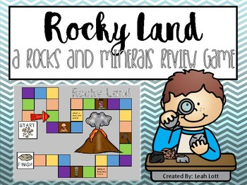 Rocky Land- A Rocks and Minerals review game