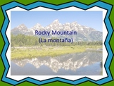"Rocky Mountain/ La montaña: A Song in Spanish and English to Learn ""re"""