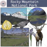 Rocky Mountain National Park Clip Art Set