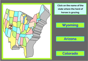 Rocky Mountain Region U S States And Capitals Boom Cards Geography