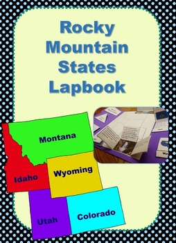 US Geography Rocky Mountain States Lapbook