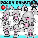 Rocky Rabbit Clip Art Bundle {Educlips Clipart}