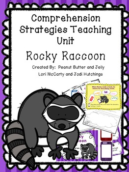 Rocky Raccoon - Reading Comprehension Strategy Teaching Unti - Beanie Baby
