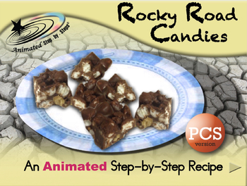 Rocky Road Candies - Animated Step-by-Step Recipe - PCS