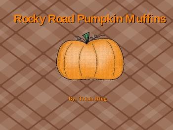 Rocky Road Pumpkin Muffins