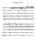 Rocky Theme Remix for Orff Instruments