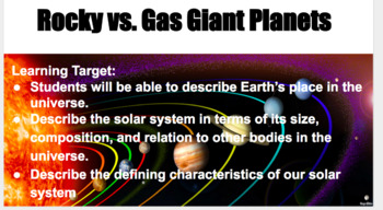 Rocky Vs. Gas Giant Planets
