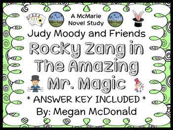 Rocky Zang in The Amazing Mr. Magic (Megan McDonald) Novel Study  (16 pages)