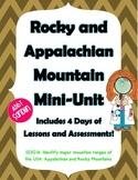 Rocky and Appalachian Mountain Mini-Unit w/ ActivInspire Flipchart & Powerpoint