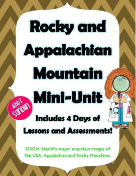 Rocky and Appalachian Mountain Mini-Unit w/ ActivInspire F