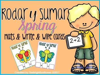 Roday y Sumar Spring Mats & Write & Wipe cards
