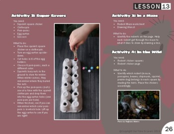 Rodents Lesson Plan