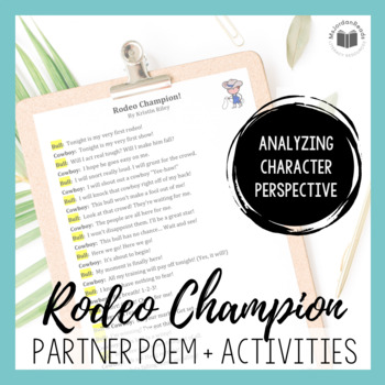"""Rodeo Champion!"" {Partner Perspective Poem}"