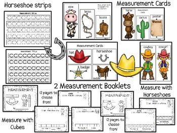 Rodeo Measurement {A non standard measurement activity and booklet}