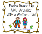 Rodeo Round Up Math Activities With a Western Flair!