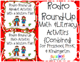Rodeo Round Up Math and Literacy Activities {Combined} With a Western Flair!