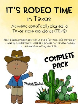 Rodeo time in Texas FULL PACK (NF passages, Chili tasting, and MORE)