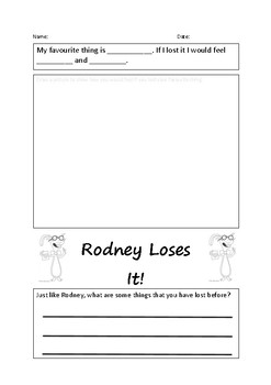 Rodney Loses It - Activity