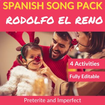 Rodolfo el reno: Spanish Activities to Practice the Preterite and Imperfect