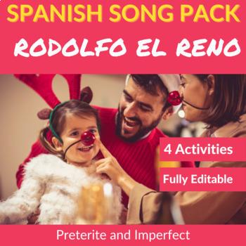 Rodolfo el reno: Spanish Activities to Practice the Preter