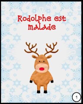 Rodolphe est malade (Histoire de Noël-French Christmas Story)