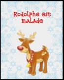 Rodolphe est malade (Histoire de Noël-French Christmas Story)