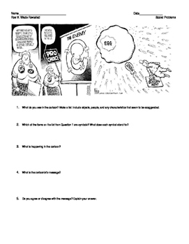 Roe vs. Wade- Revisited Lesson Plan- What does the Constit