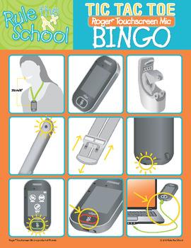 Roger Touchscreen Mic Bingo