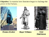 Roger Williams and the Puritan Dissenters PowerPoint Presentation