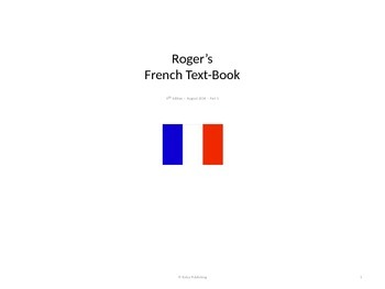 Roger's French Audio Power Point Text Book Free Sample
