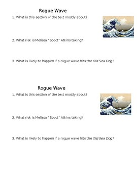 Rogue Wave - Check for Understanding/Mini Quiz