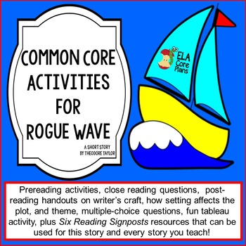 Rogue Wave ~ Common Core Aligned Activities Plus Reading S