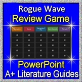 Rogue Wave Review Game 7th grade HMH Collections Textbook Jeopardy Style